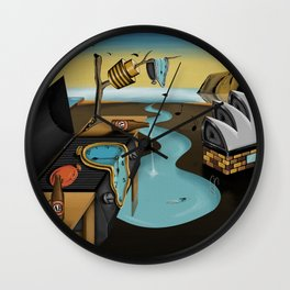 Where Time Stands Still - Surreal Sydney  Wall Clock