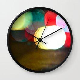 Northern California Lights Wall Clock