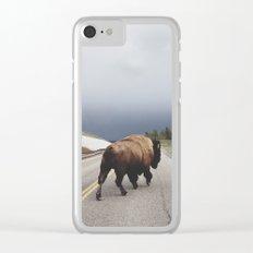 Street Walker Clear iPhone Case