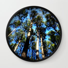 TREES ( A Blessed Glance Up) Wall Clock