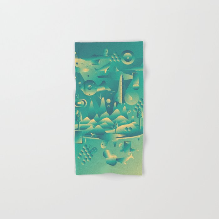 Geometromorphic Dream Hand & Bath Towel