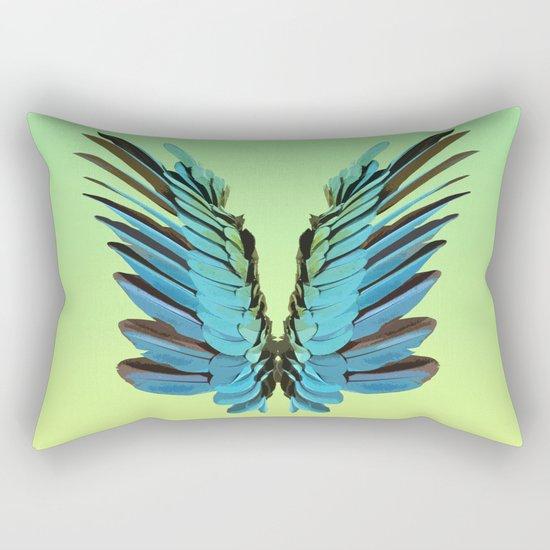 Macaw Wings Rectangular Pillow