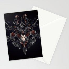 Strawberry flower Stationery Cards