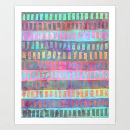 PATTERN {Geometric 002} Art Print
