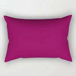 Rose Bud Cherry Colour Rectangular Pillow
