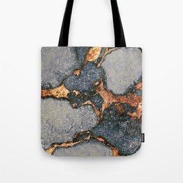 GREY & GOLD GEMSTONE Tote Bag