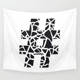 Hashtag Wall Tapestry