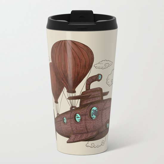 The Fantastic Voyage Metal Travel Mug