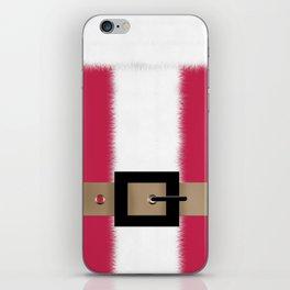 Christmas , Santa Claus , red iPhone Skin