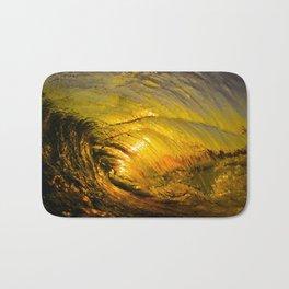 Sunset Barrel 2 ~ Newport Beach Bath Mat