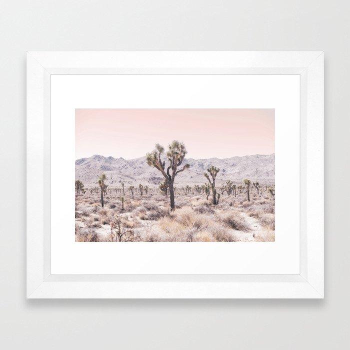 Joshua Tree Framed Art Print