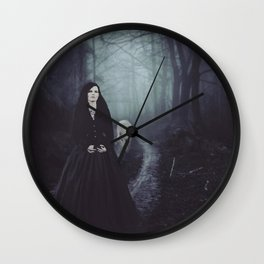 Seven Days To The Wolves Nightwish Inspired Artwork Wall Clock