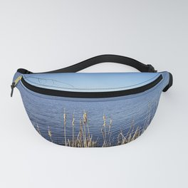 """Incredi-blue"" lake view - Lake Mendota, Madison, WI Fanny Pack"
