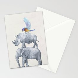 African Wildlife Stationery Cards