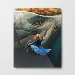 Shallan and the Santhid Metal Print