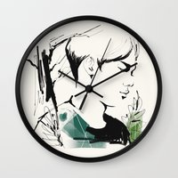 exo Wall Clocks featuring Love Me Right - Chen by emametlo