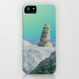 This is Not Easter Island iPhone Case