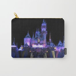 Sleeping Beauty's Holiday Castle (Night) I Carry-All Pouch