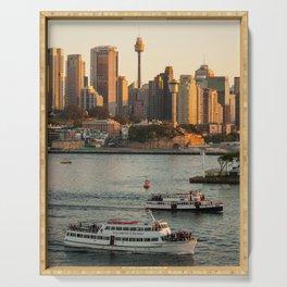 Cruising Sydney Harbour Serving Tray