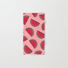 Watermelon Pattern in Pink Hand & Bath Towel