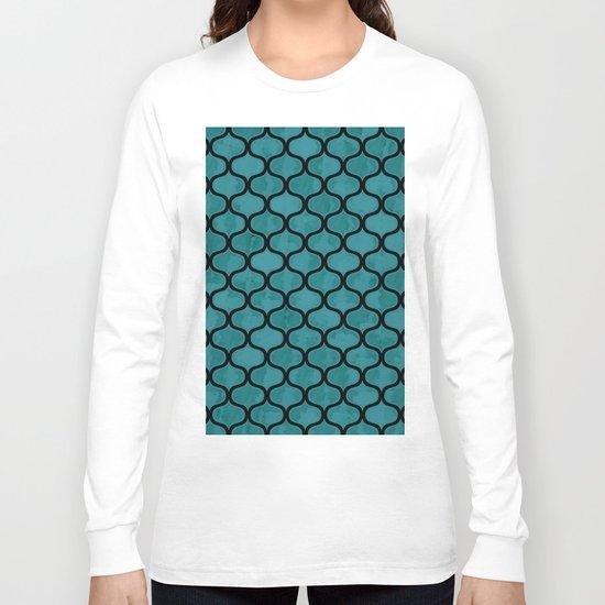 Watercolor Lovely Pattern VVXIV Long Sleeve T-shirt