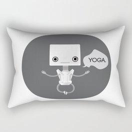 Yoga Rectangular Pillow