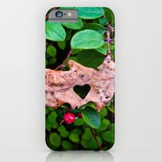 GREEN LEAVES HEART Slim Case iPhone 6s
