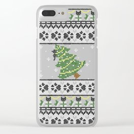 A Cat-astrophe Clear iPhone Case