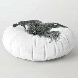 Huginn and Muninn Floor Pillow