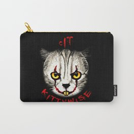 cat clown kittywise vector art Carry-All Pouch