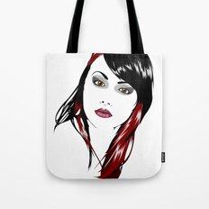 minimal girl 3 Tote Bag