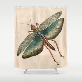Big Grasshopper Shower Curtain