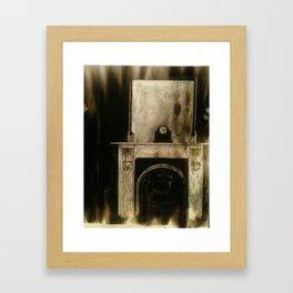 Study of mantelpiece  Framed Art Print
