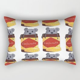 Koalamite | vegiemite illustration Rectangular Pillow