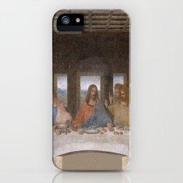 Leonardo da Vinci – Ultima cena – the last supper iPhone Case