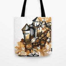 Castle float Tote Bag