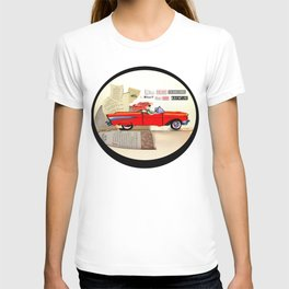 Red Riding Hood Hits the Road T-shirt