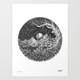 ESCAPE - Visothkakvei Art Print