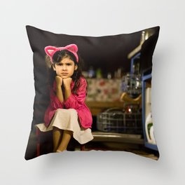 Girls want to have fun. Throw Pillow