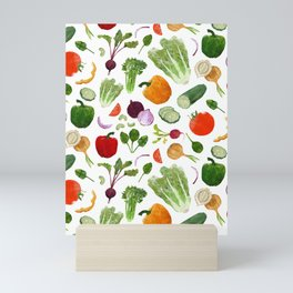 BG - Mixed salad Mini Art Print