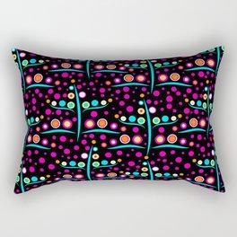 Seamless bright modern abstract texture background Rectangular Pillow