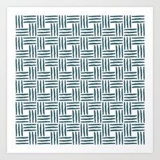 Wasserweave Art Print