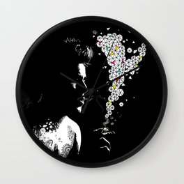 SMOKING BOY Wall Clock