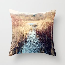 Unconfined Solitude Throw Pillow