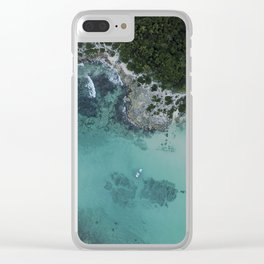 Abandoned dock Clear iPhone Case