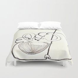 Draw On Yourself Duvet Cover