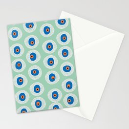 Evil Eye Charm - Hemlock  Stationery Cards