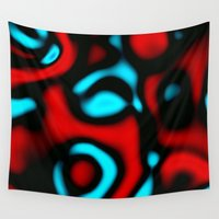 pain Wall Tapestries featuring Pain by Christy Leigh
