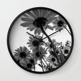 Below The Daisies Wall Clock