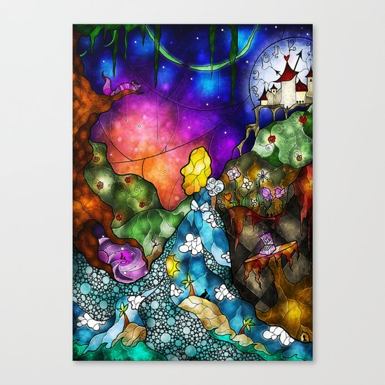 Wonderland (Once Upon A Time Series) Canvas Print